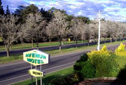 Avenue Motel Logo and Images