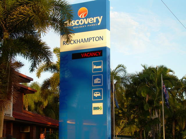 Discovery Holiday Parks - Rockhampton Logo and Images