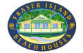 Fraser Island Beach Houses Logo and Images
