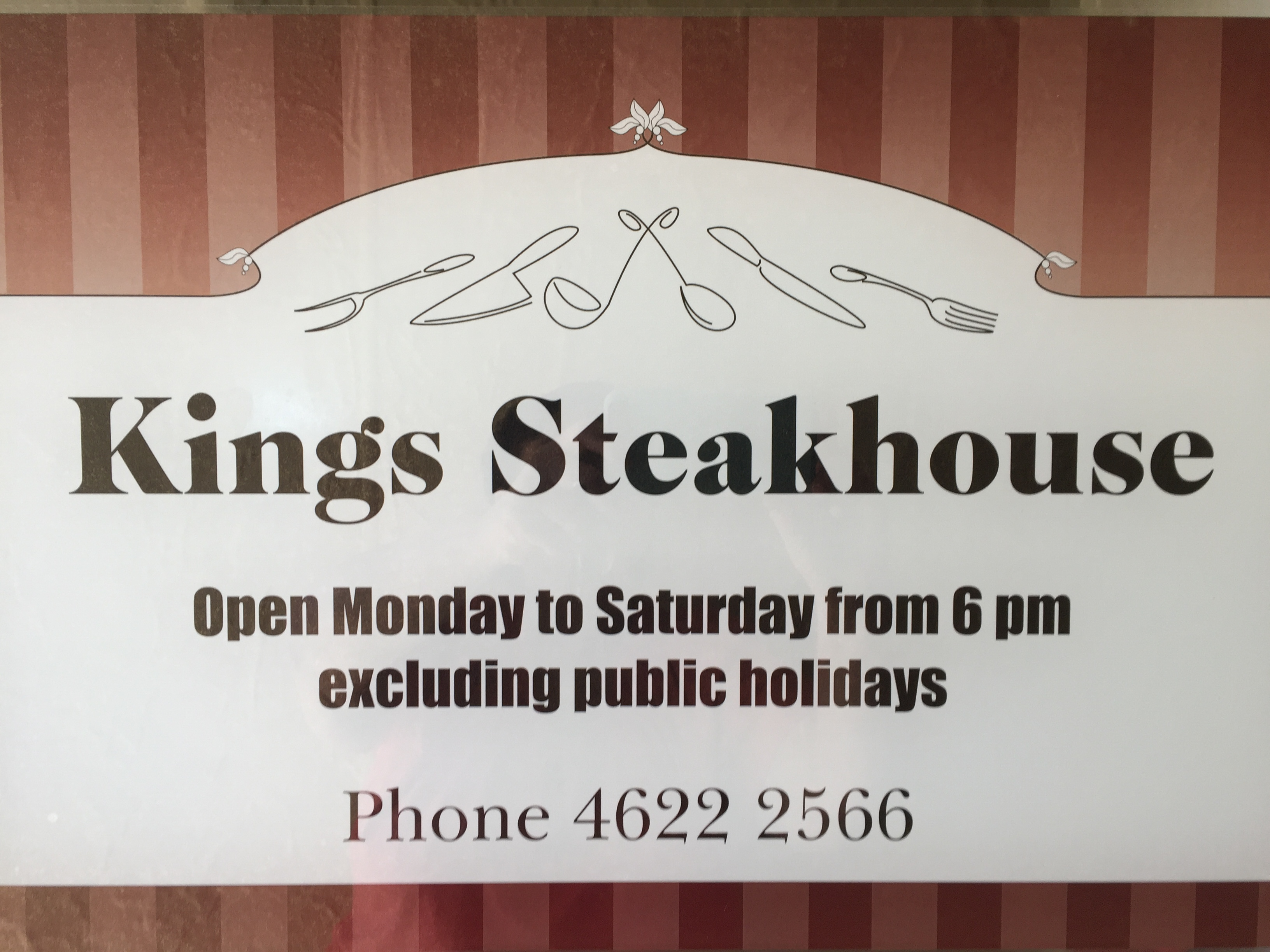 Kings Motor Inn & Steakhouse Logo and Images