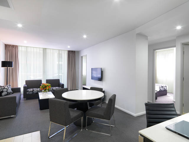 Meriton Serviced Apartments - North Ryde Logo and Images