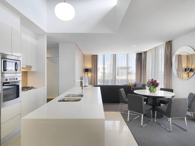 Meriton Serviced Apartments - Zetland Logo and Images
