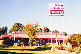 Upland Pastures Motel Logo and Images