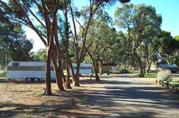 Wycheproof Caravan Park Logo and Images