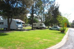 Yass Caravan Park Logo and Images