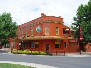 The Commercial Hotel Tumut Logo and Images