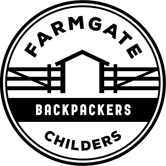 Farmgate Backpackers Logo and Images