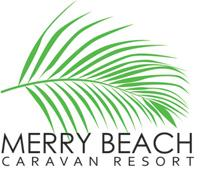 Merry Beach Caravan Resort Logo and Images