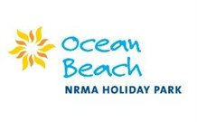 Ocean Beach NRMA Holiday Park Logo and Images