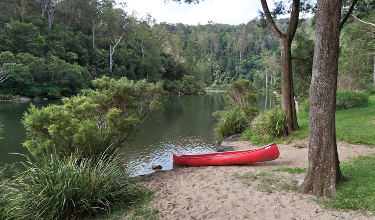Platypus Flat campground Logo and Images