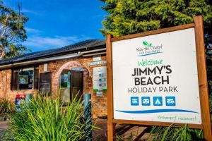 North Coast Holiday Parks Jimmys Beach Logo and Images
