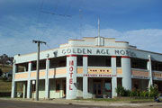 The Omeo Golden Age Motel Logo and Images