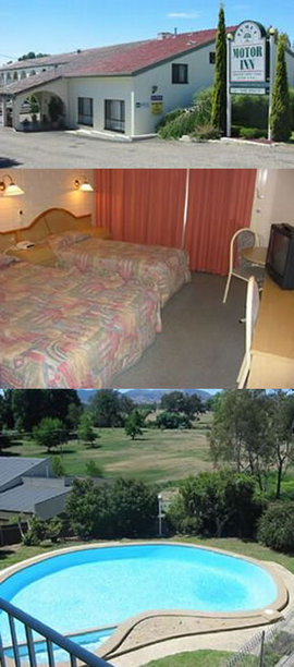 Tumut Motor Inn Logo and Images