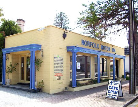 Norfolk Motor Inn Logo and Images