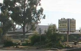 Colonial Motor Inn West Wyalong Logo and Images