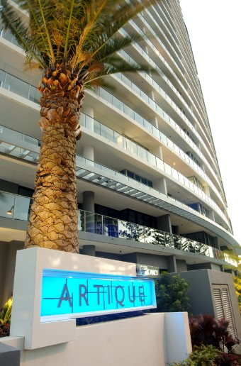 Artique Resort Logo and Images