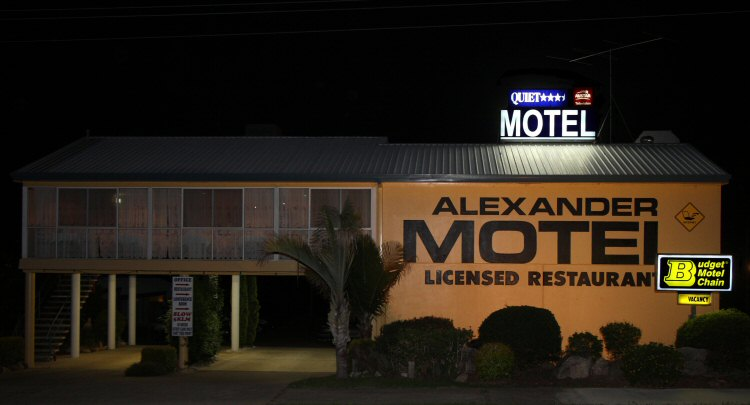 Alexander Motel Logo and Images