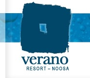 Verano Resort Logo and Images