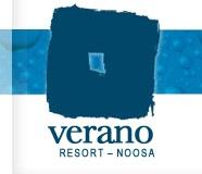 Verano Resort Logo and Images
