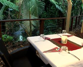 Heritage Lodge and Spa - In the Daintree Logo and Images