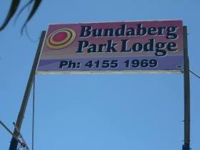 Bundaberg Park Lodge Logo and Images