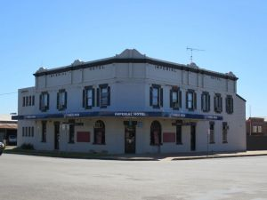 Imperial Hotel Gunnedah Logo and Images