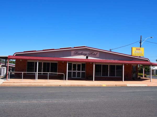 Railway Hotel Condobolin Logo and Images