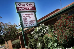 City Gate Motel Mildura Logo and Images
