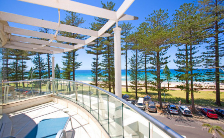 Manly Surfside Holiday Apartments Logo and Images