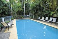 Noosa Outrigger Beach Resort Logo and Images