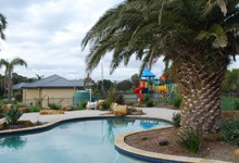 Phillip Island Surf & Circuit Family Resort Logo and Images