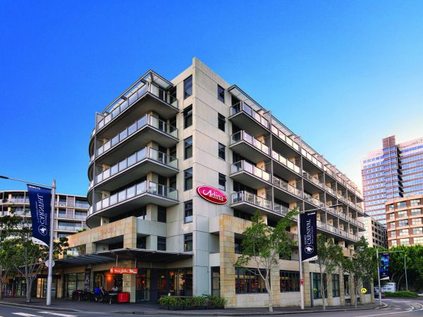 Adina Apartment Hotel Sydney Darling Harbour Logo and Images