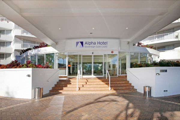Alpha  Sovereign Hotel Logo and Images