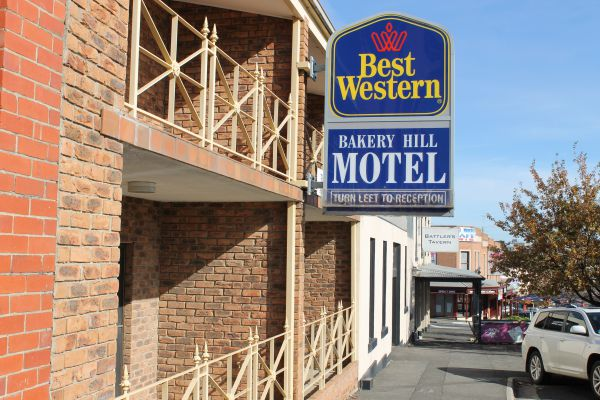 Bakery Hill Motel Logo and Images