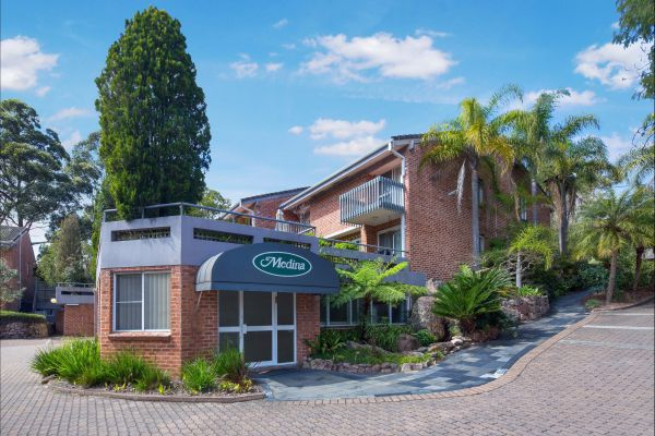 Medina Serviced Apartments North Ryde Sydney Logo and Images