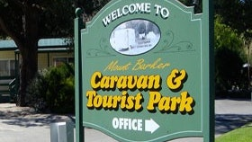 Mount Barker Caravan and Tourist Park Logo and Images