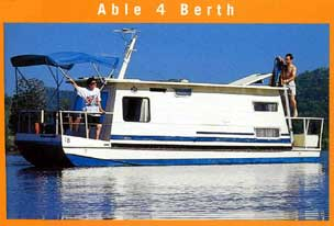 Able Hawkesbury River Houseboats Logo and Images