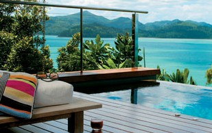 Qualia Luxury Holiday Resort Logo and Images