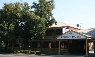 Albury Regent Motel Logo and Images
