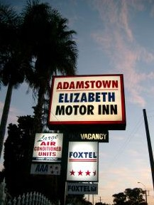 Adamstown Motor Inn Logo and Images