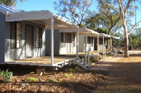 Moora Caravan and Chalet Park Logo and Images
