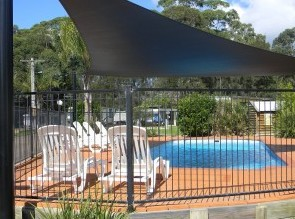 Caseys Beach Holiday & Lifestyle Village Logo and Images