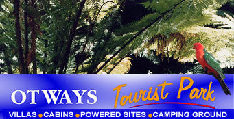 Otways Tourist Park Logo and Images