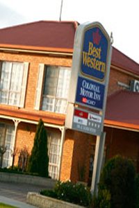 Best Western Colonial Bairnsdale Logo and Images