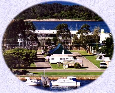 North Arm Tourist Park Logo and Images