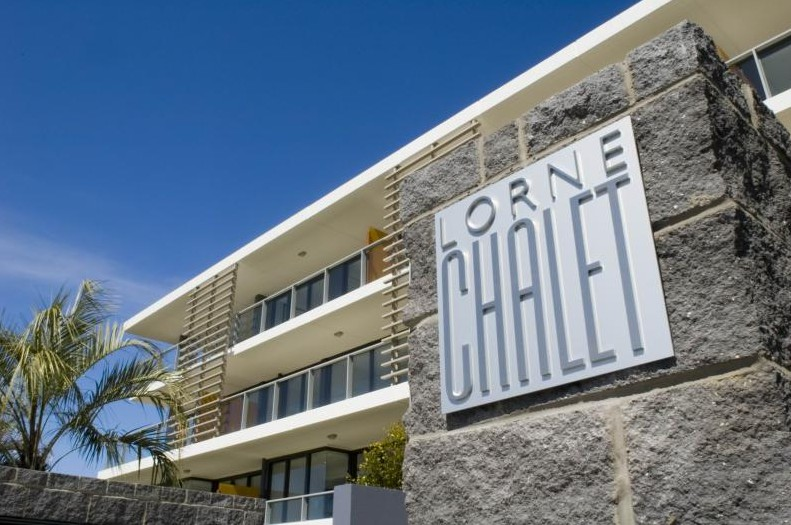 Lorne Chalet Logo and Images