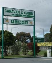 Wodonga Caravan and Cabin Park Logo and Images