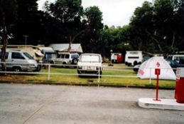 Windsor Gardens Caravan Park Logo and Images