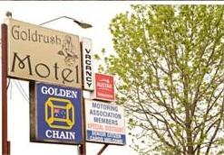 Goldrush Motel Logo and Images