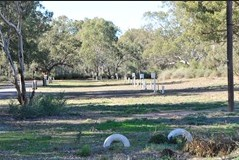 Wilcannia Caravan Park Logo and Images
